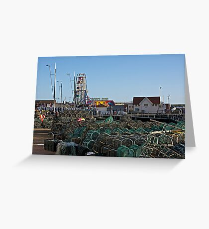 Fishing Equipment. Greeting Card