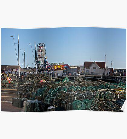 Fishing Equipment. Poster