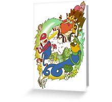 Adventure Bros Greeting Card