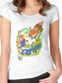 Adventure Bros Women's Fitted Scoop T-Shirt