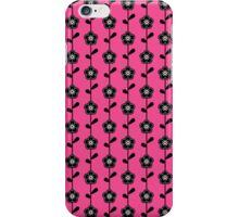 Retro Flower Pattern iPhone Case/Skin