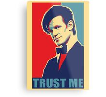 Matt Smith Hope Metal Print