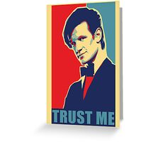 Matt Smith Hope Greeting Card