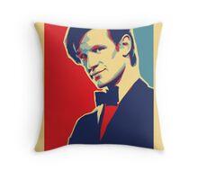 Matt Smith Hope Throw Pillow