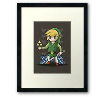 The Legend of Zelda: Wind Waker Framed Print