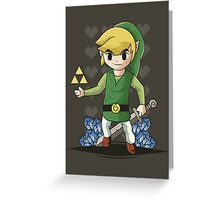 The Legend of Zelda: Wind Waker Greeting Card