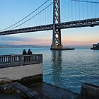 Two at the Bay Bridge by James Watkins