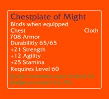Chestplate of Might by DPSmachine