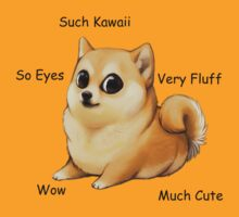 Kawaii Doge by Kitsuneace