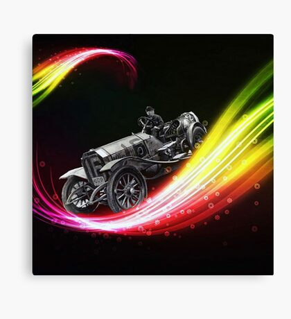 Time Traveling Canvas Print