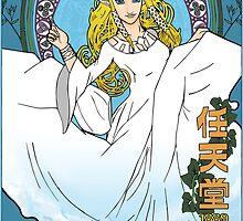 Zelda: Skyward Sword Art Nouveau by Erich Schuler
