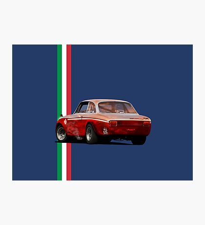 Alfa Romeo Giulia 1300 Junior GTA Photographic Print