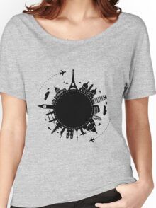 Around The World Women's Relaxed Fit T-Shirt