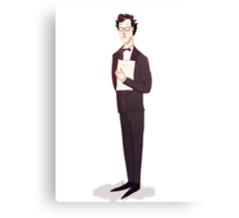Sherlock Du Creff Canvas Print