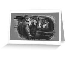 Sherlock Holmes and Doctor Watson Greeting Card
