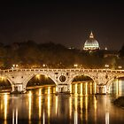 Tiber River, Rome Italy by Timothy Denehy