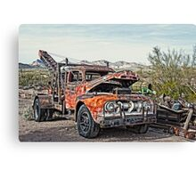 Breakdown Truck Canvas Print