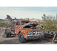 Breakdown Truck Photographic Print