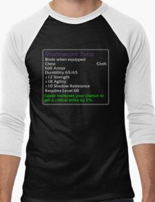 Shadowcore Tunic Men's Baseball ¾ T-Shirt