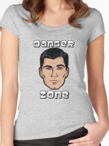 Danger Zone Archer Women's Fitted Scoop T-Shirt