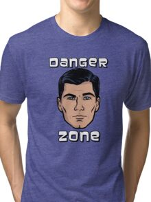 Danger Zone Archer Tri-blend T-Shirt