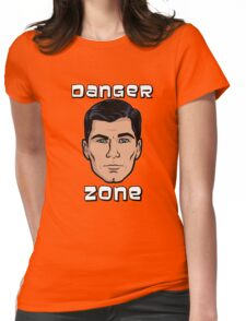 Danger Zone Archer Womens Fitted T-Shirt