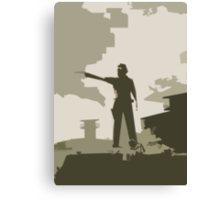The Walking Dead Armed and Ready Canvas Print