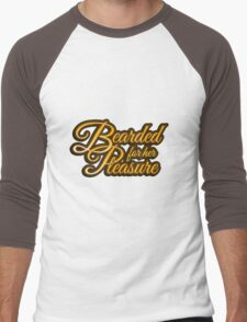"""Bearded For Her Pleasure"" Men's Baseball ¾ T-Shirt"
