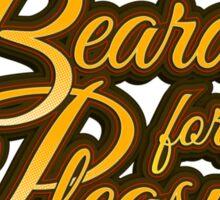 """Bearded For Her Pleasure"" Sticker"