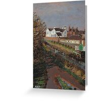Bridgwater and Taunton Canal #8 Greeting Card