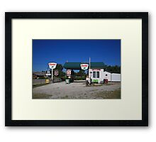 Route 66 Sinclair Station Framed Print
