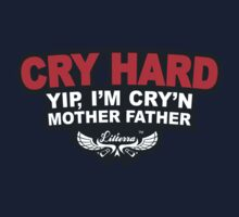 CRY HARD  One Piece - Short Sleeve