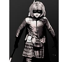 Hit Girl Photographic Print