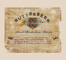 Butterbeer Label, The Three Broomsticks by nicethreads