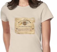 Butterbeer Label, The Three Broomsticks Womens Fitted T-Shirt