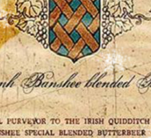 Butterbeer Label, The Three Broomsticks Sticker