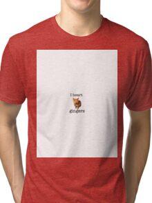 I heart gingers Tri-blend T-Shirt