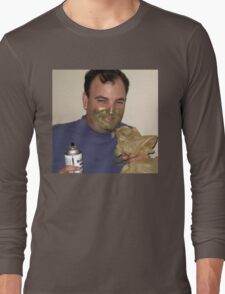 The happy Huffing Man Long Sleeve T-Shirt