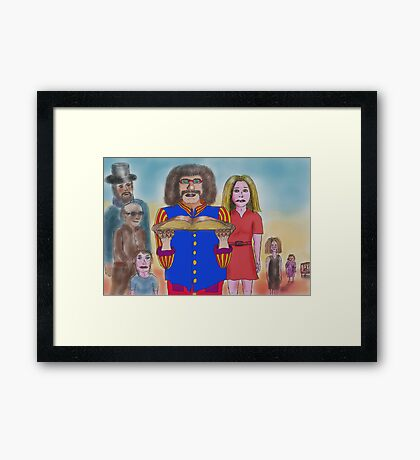 The Influence of Past Lives Framed Print