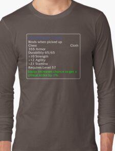 Hardened Tunic Long Sleeve T-Shirt