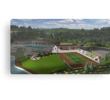 New Stadium TennisCenter Canvas Print