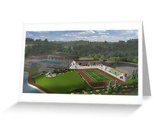 New Stadium TennisCenter Greeting Card