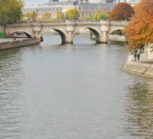 Autumn on the Seine Sticker