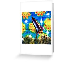 Sky Above Saturday Greeting Card