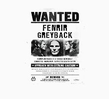 Fenrir Greyback Wanted Poster Unisex T-Shirt