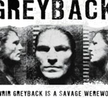 Fenrir Greyback Wanted Poster Sticker