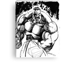 POWER !! pen and ink Canvas Print
