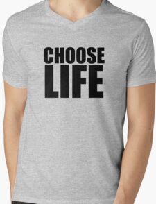 Choose Life !! WHAM Mens V-Neck T-Shirt
