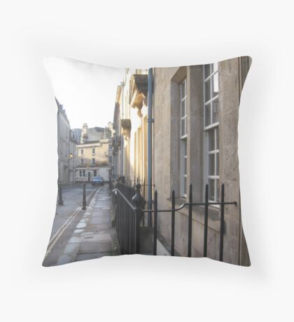 Sun Catches the Walk Throw Pillow