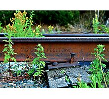 Forgotten Rail Road Photographic Print